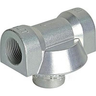 Адаптер алюминиевый для фильтров CIMTEK серии 400, впускное отверстие 1', проток — до 120 л/мин КИЕВ