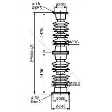 Изолятор С8-1300-I-М УХЛ1