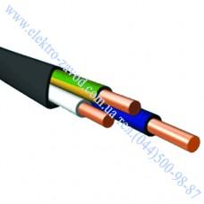 ВВГ 3 х 1,5 кабель силовой с медной жилой и ПВХ изоляцией
