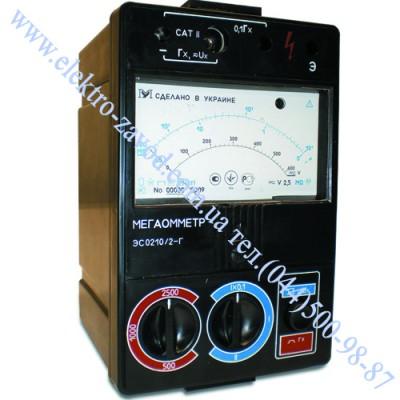ЭС0210/1 или /1Г цифровой мегаомметр