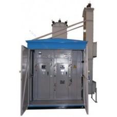 Подстанции трансформаторные комплектные КТПГСМ – 100...630/10(6)/0,4 У1 для городских электрических сетей
