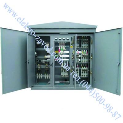Подстанция трансформаторная КТП 1000 кВА комплектная общепромышленная наружной установки