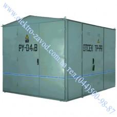 Подстанция трансформаторная КТП 630 кВА комплектная общепромышленная наружной установки