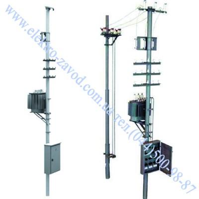 КТПС-160 кВА Трансформаторна підстанція стовпова 10 / 0,4 і 6 / 0,4 кВ