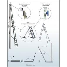 Лестница приставная наклонная ЛПТС-7РМ