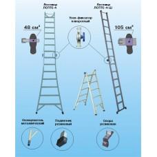 Лестницы трансформируемые в самоопорные (стремянки) ЛСПТС