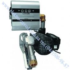 DRUMTECH насос для дизеля со счетчиком 220В, 60 л/мин