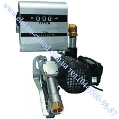 DRUM TECH насос для дизеля со счетчиком 220В, 60 л/мин