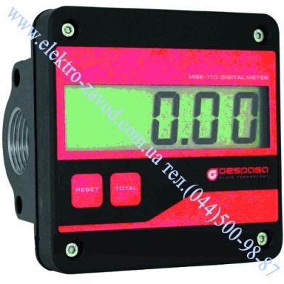 MGE 110 счетчик расхода топлива электронный 5-110 л/мин