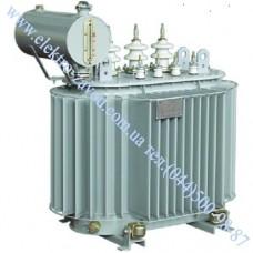 Масляний трансформатор ТМ-160, силовий трансформатор 160кВА